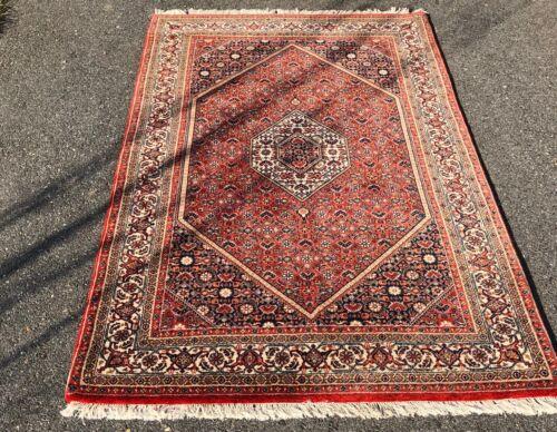 Fine Quality Handmade In India Manchester Wool High KPSI Geometric Tribal Design