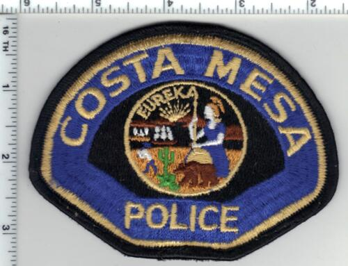Costa Mesa Police (California) Uniform Take-Off Shoulder Patch - Early 1980