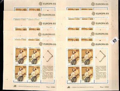 / 10X PORTUGAL 1985 - MNH - EUROPA CEPT - MUSIC
