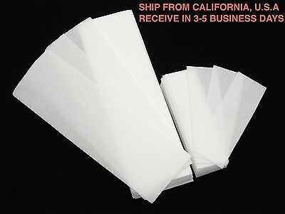 NON-WOVEN FACIAL & BODY WAX STRIPS 50 LARGE & 50 SMALL