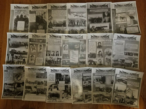 RUSSIA LATVIA 30 years of the Soviet army 82 photo series 1948s RIGA 304