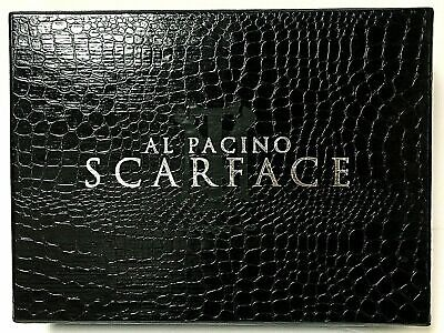 Scarface DVD Al Pacino Anniversary Edition Box 2DVD 8 LobbyCrds+MoneyClip