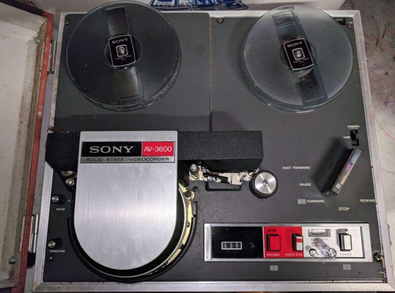 Vintage Sony AV-3600 Videocorder (AV-3600)