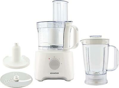 Kenwood MultiPro Compact Food Processor (FDP301WH) 800w power motor