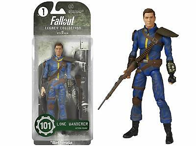 NEW Funko Legacy Action: Fallout Lone Wanderer Action Figure (Blister Pack)