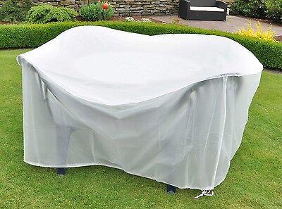 Schutzhülle für Gartenmöbel Gartenbank Schutzhaube Abdeckung Wetterschutzhülle