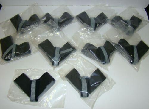 Lot of 10 ~ Desco CMG-8643 Trustat Heel Grounder Cup Rubber Conductive Ribbon