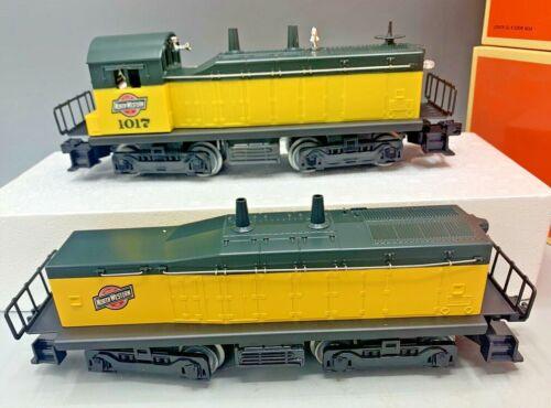 Lionel 6-18921/18928 Chicago & Northwestern Switcher & Calf Units O-Gauge OB