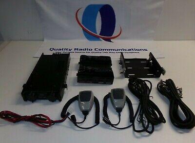 Kenwood Tk-790h Dual Remote Head 148-174 Mhz Vhf 110 Watt Two Way Radio