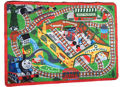 Thomas & Friends Play Rug.at Steamworks 31.5 x 44 Inches by Gertmenian