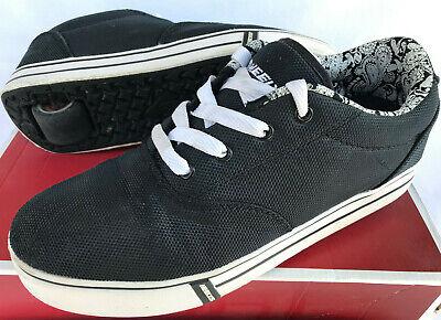 Heelys Launch 770550 Black Wheel Skate SB Rolling Roller Sneakers Shoes Men's 8