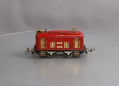 Lionel 248 Vintage O 0-4-0 Tinplate Powered Electric Locomotive