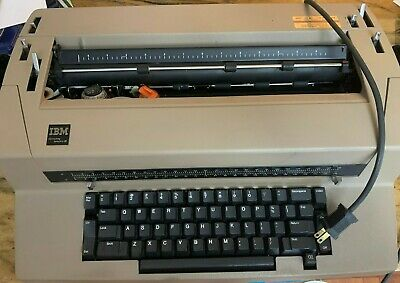Vintage Ibm Correcting Selectric Iii Electric Typewriter - Excellent Condition