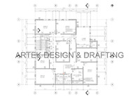 2D CAD drafting and 3D Revit rendering services