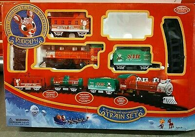 Rudolph The Red Nose Reindeer Train Set Christmas Town Express Replacement Parts