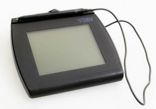 Topaz SignatureGem LBK766 4x5 T-LBK766SE-BHSB-R Signature Pad & Angle USB