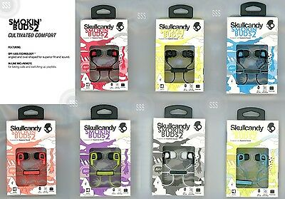 New Skullcandy Smokin Buds 2 Equipped With Supreme Sound With Mic   Travel Case