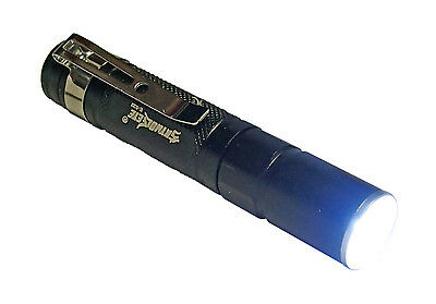 1000 Lumen Waterproof Pocket LED Flashlight Zoomable AAA Micro Mini Penlight