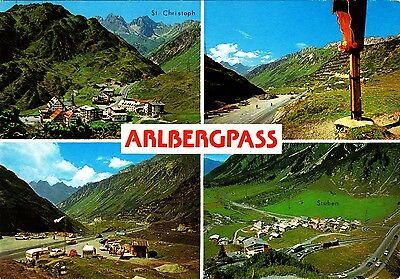Arlberg-Pass , Vorarlberg  , Ansichtskarte