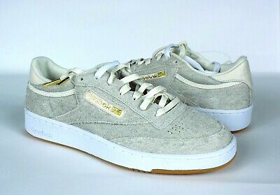 Reebok x Barneys New York Sole Series Mens Club C 85 Suede Shoes Size 7