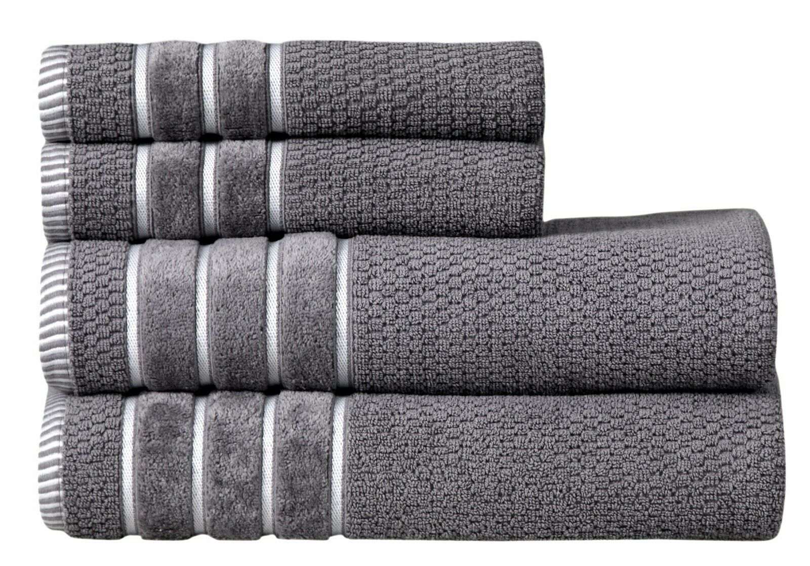 towel set 4 pc set 100 percent