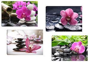 quadro moderno orchidee mix 4 quadri 30x45 arredo casa bar ufficio ... - Arredamento Moderno Con Quadri