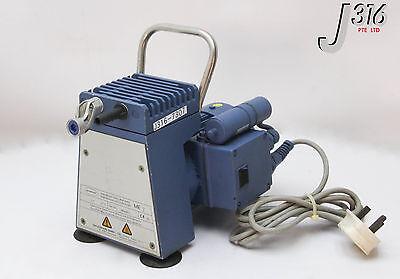 7307 Vacuubrand Diaphragm Vacuum Pump W Abm Motor Fkf56 Cx-4 Me 2