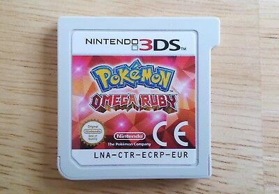 Pokemon Omega Ruby - Nintendo 3DS game - Age 7+ PAL