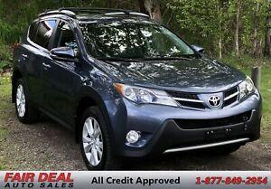 2014 Toyota RAV4 Limited: AWD/Fully Loaded/Heated Seats/Sunroof