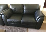 Leather sofas for sale Chatswood Willoughby Area Preview