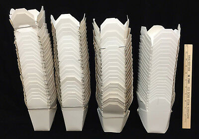 New Chinese Take Out Boxes White Wedding Party Favors Paper Metal Handle Set 88