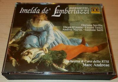 DONIZETTI-IMELDA DE' LAMBERTAZZI-NUOVA ERA 2xCD 1989-ANDREAE/SOVILLA-UNPLAYED