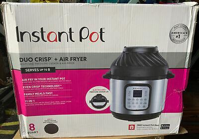 Instant Pot Duo Crispair Fryer 11-in-1 Multi Pressure Cooker