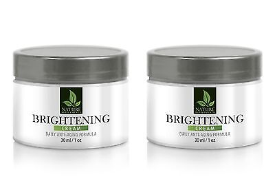 Vitamin D - BRIGHTENING CREAM ANTI-AGING FORMULA 60 ml/1oz - 2 Bottles