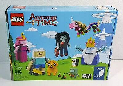 LEGO 21308 - Ideas - Licensed - Adventure Time - Retired Set - New/Sealed