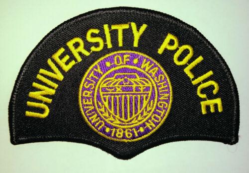 University of Washington Police Patch // FREE US SHIPPING!