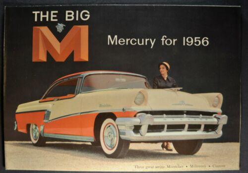 1956 Mercury Brochure Montclair Monterey Wagon Excellent Original Not a Reprint
