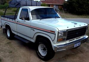1981 Ford F100 Ute Golden Bay Rockingham Area Preview