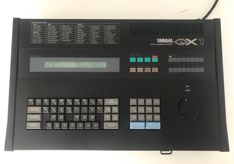 Yamaha QX1 MIDI Sequencer + Disks + Manuals Excellent