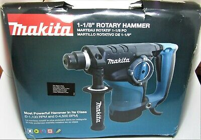 Makita Corded Sds Plus Concrete Masonry Rotary Hammer Drill Hr2811f Whard Case.