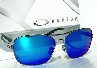 NEW* Oakley Sanctuary AVIATOR 58mm Squared SAPPHIRE Sunglass oo4116