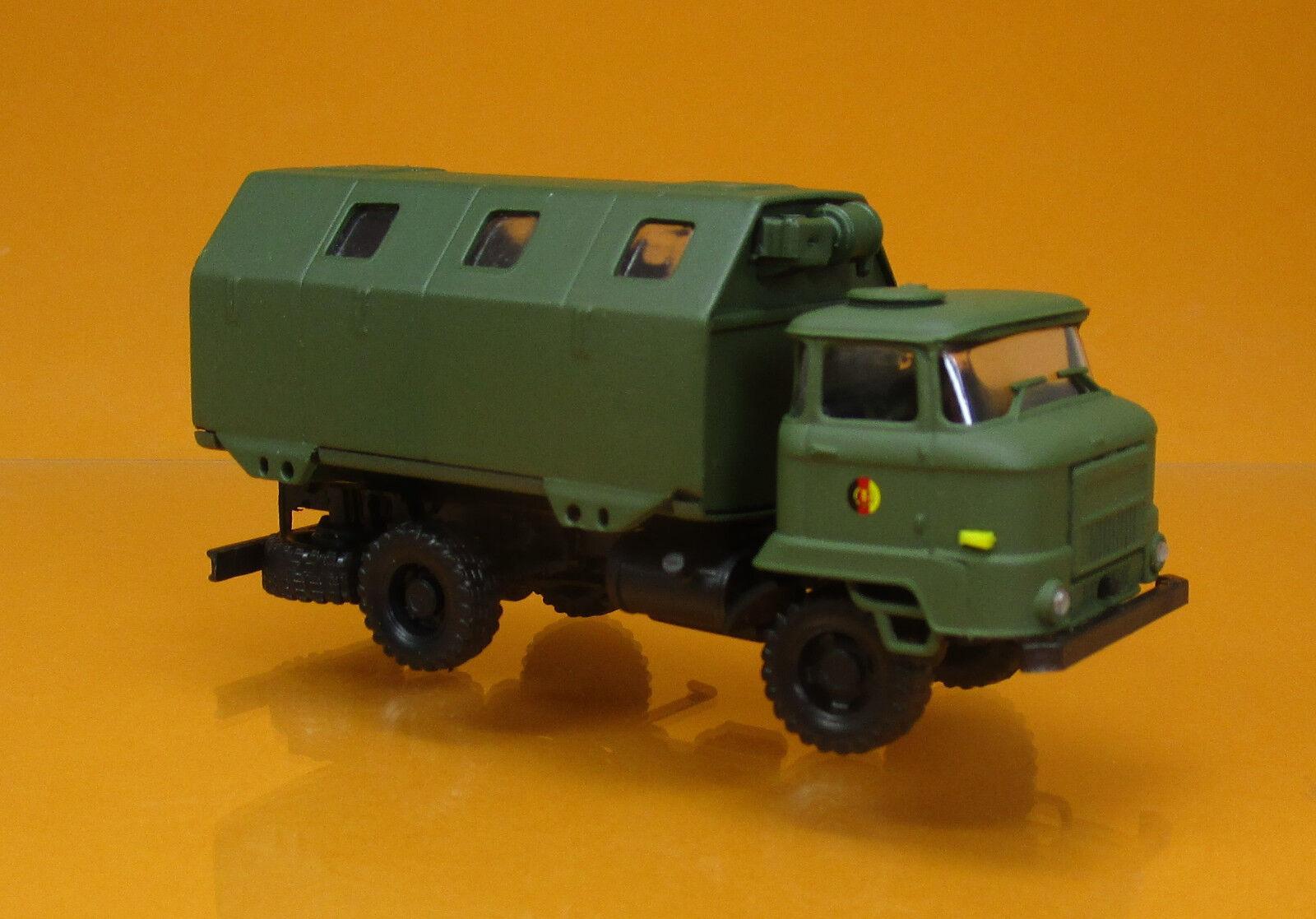1:87 HO ZIL-157 LKW Pritsche mit Anhänger NVA DDR UdSSR