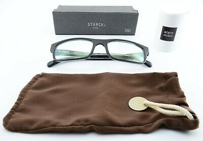 STARCK EYES for MIKLI Brille Biocity 55[]18 145 SH3006 3077 Black Frame c2014