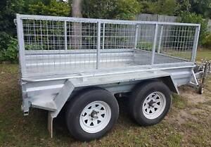 Dual axel trailer hire