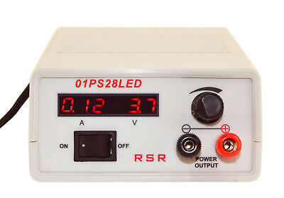 Dc Power Supply 1-15v At 2a With Led Display
