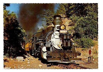 Narrow Gauge Train Postcard Silverton Durango Colorado Scenic Canyons Railroad for sale  Shipping to Canada