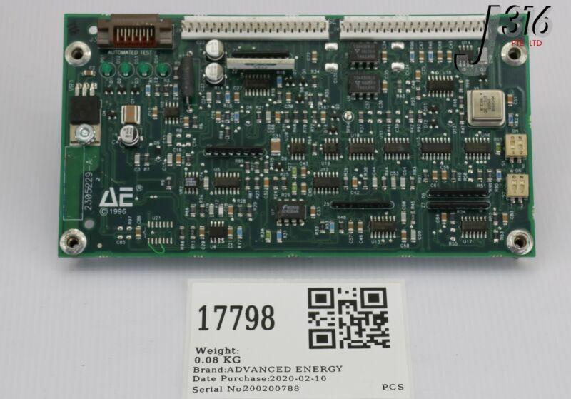 17798 Advanced Energy Pcb, Rfg Phase Control 2305229-a