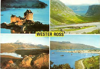 Wester Ross - Scotland - Multiview - Postcard 1977
