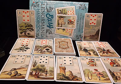 SEALED & BRAND NEW! EASY LENORMAND ORACLE CARDS & BOOK FORTUNETELLING DIVINATION