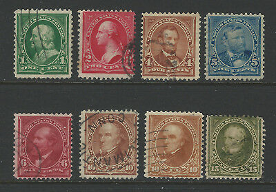 #279 to 284 used set to 15 cent